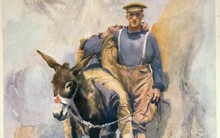 Simpson and his Donkey, Horace Moore Jones. Jenny Haworth, 11:05