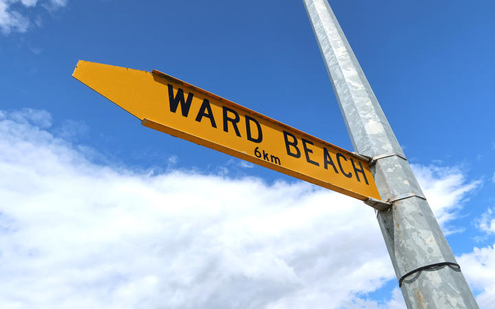Ward Beach, Marlborough
