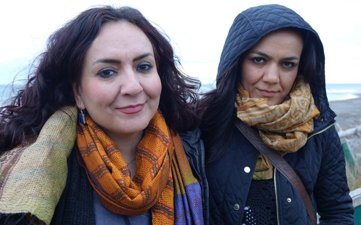 Mahsa and Marjan Vahdat.