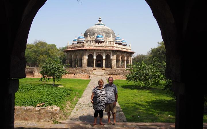 Marian and Don Stuart in India