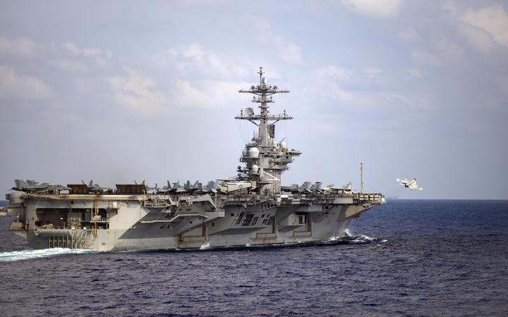 United States Navy ship Theodore Roosevelt