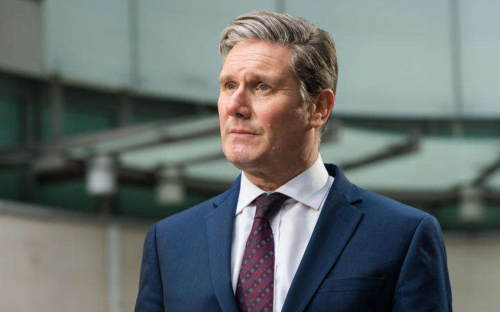Sir Keir Starmer, who has been elected to lead the UK Labour Party.