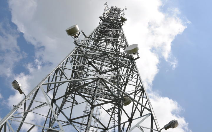 Mobile phone masts have been damaged in England in recent days (file picture).