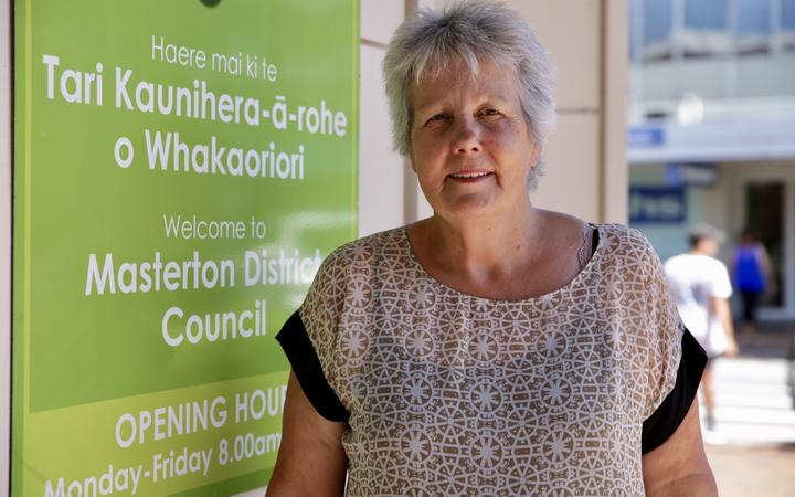 Mayor of Masterton Lyn Patterson. Masterton reached 33 degrees, prompting children still on school holidays to take shelter at home or the pool.