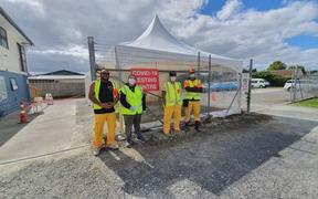 One-hundred-and-fifty-eight people showed up at the Kaikohe testing station on Sunday, with another 133 coming through on Monday.