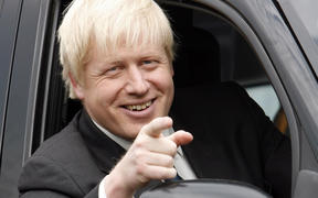 Boris Johnson during his time as London Mayor in 2008.