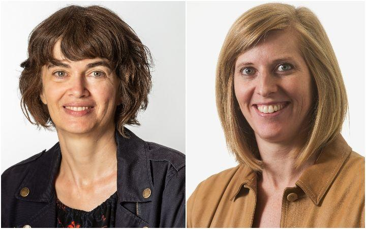 Consumer NZ head of research Jessica Wilson (left) and Consumer advocate Aneleise Gawn.