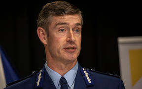 Police Commissioner Andrew Coster.
