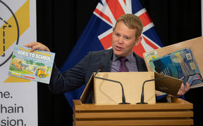 Minister of Education Chris Hipkins.