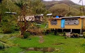 Damage from Cyclone Harold on Kadavu