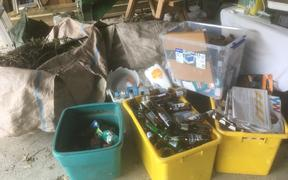 Refuse and recycling has been piling up in Wairarapa homes during the Covid-19 coronavirus lockdown.