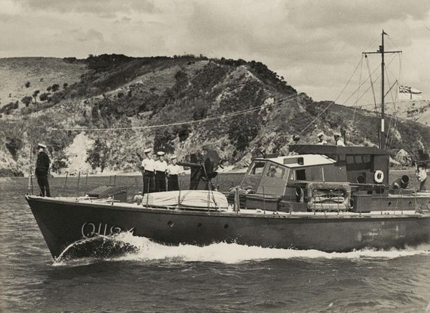 Paea August during WW Courtesy National Museum of the Royal New Zealand Navy