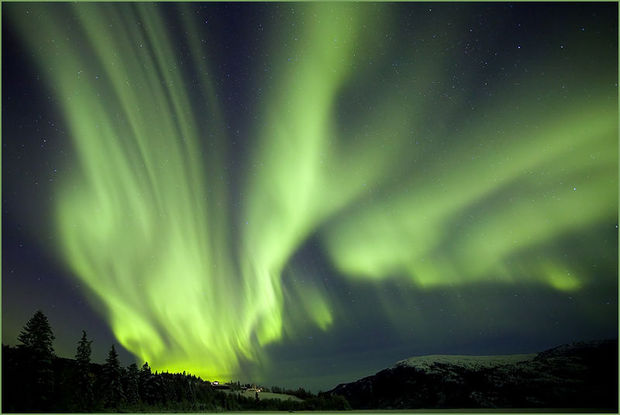 Aurora Borealis in Canada