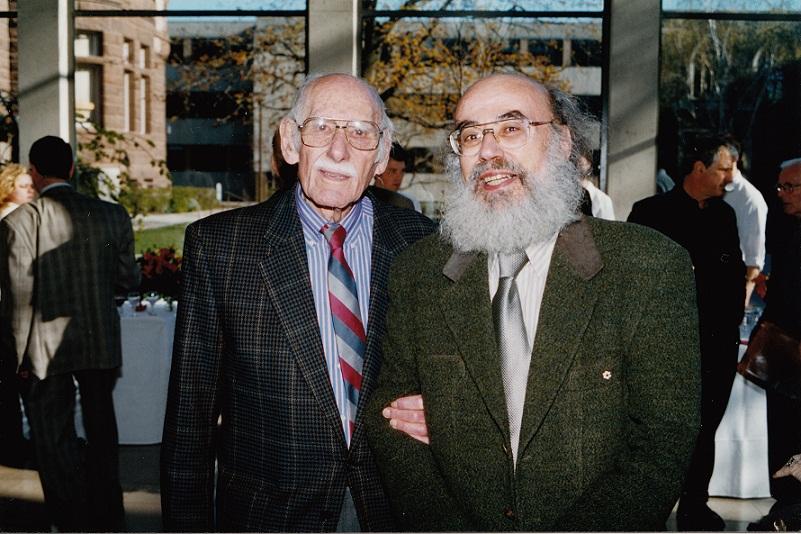 John Weinzweig and Jacques Hetu