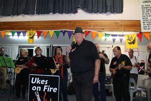 Thames based, Ukes on Fire.