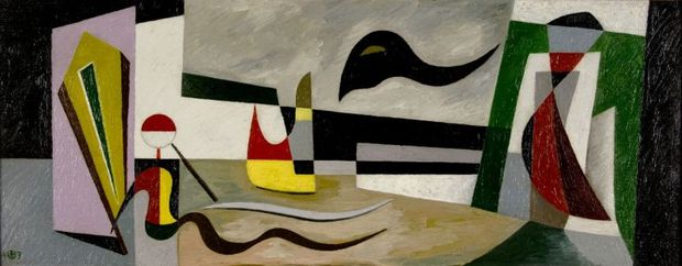 A Dark Thought (Was Visiting My Peaceful Backyard) by Werner Drewes.