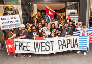A Free West Papua demonstration