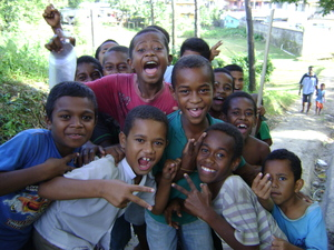 Fijian children