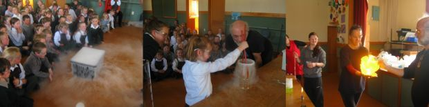 Science magic show