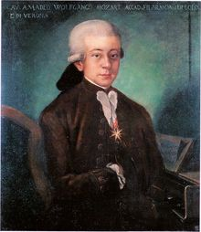 Bologna Mozart from 1777
