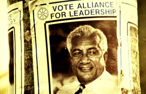 Fiji election poster, 1987