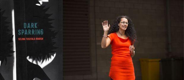 Performance poet Dr Selina Tusitala Marsh