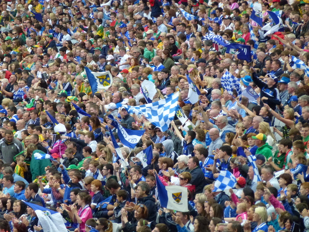 A sea of fans at Croke Park