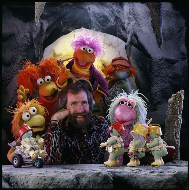 Jim Henson with the Fraggles