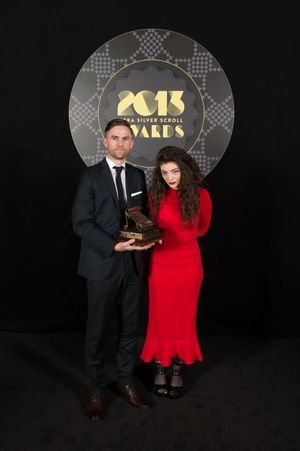 Silver Scrolls Lorde Ella Yelich O Connor and Joel Little Photo by Topic