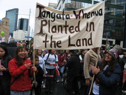 Tangata whenu planted in the land