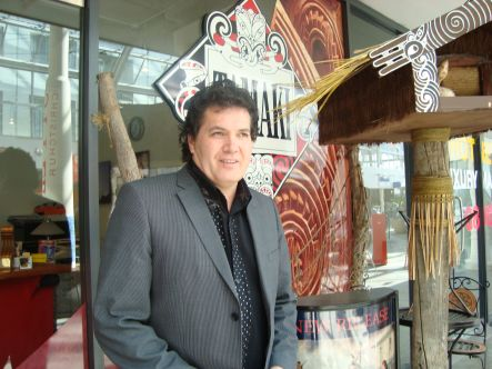 Mike Tamaki now runs the south island branch of Tamaki Maori Village in Christchurch