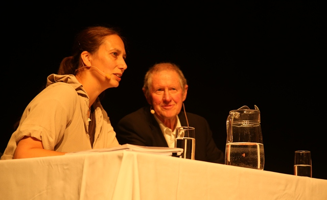 Jacinta Ruru Otago academic and Clive Howard Williams NIWA Chief Scientist