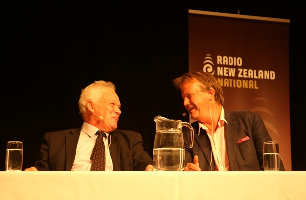 Donald Couch Environment Canterbury and Ian McKenzie Federated Farmers spokesperson