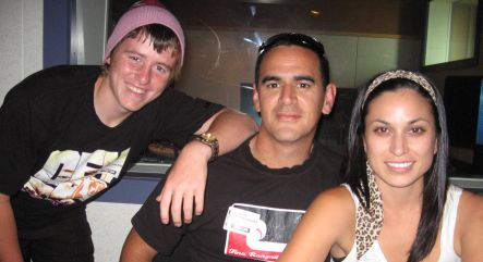 Jacob Duigud, Jamie McCaskill and Kali Kopae