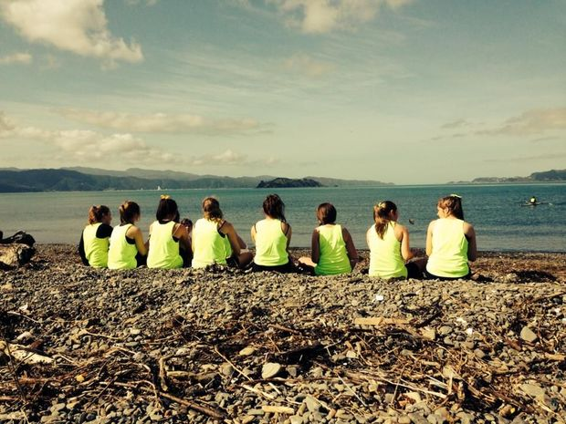 Rowing Petone novice girls