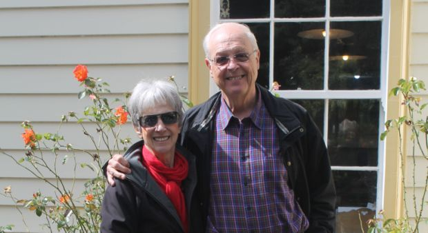 Eric and Carol Meyers by Lisa Thompson RNZ cropped
