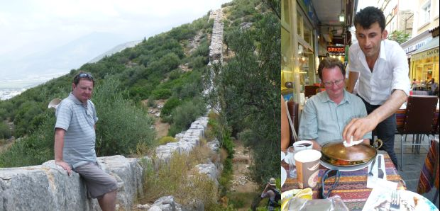 Ewan McDonald Camping in Turkey