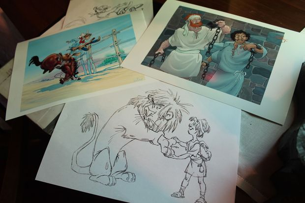 Disney A selection of John Ewing s drawings