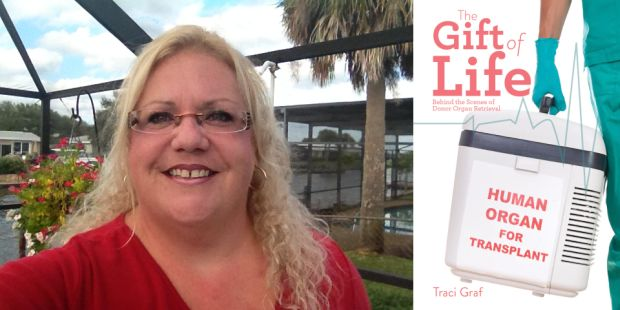 Traci Graf author of The Gift of Life