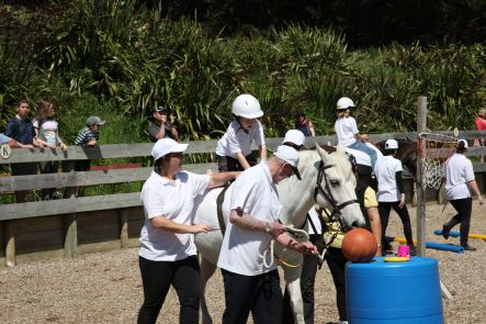 Open Day at the Wellington branch of Riding for the Disabled