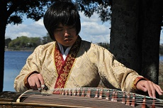 guzheng player xiyao chen
