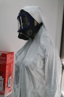 Meth clean up Mannequin all togged up