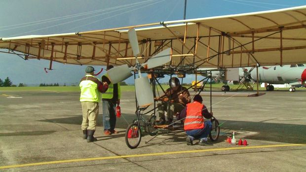 Flight In its full glory at Whenuapai aerodrome Courtesy Wayne Johnson