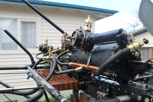 Flight The engine that Ivan Mudrovcich has built based on Richard Pearse s original patent notes and personal letters photo Lisa Thompson