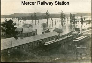 Mercer railway station