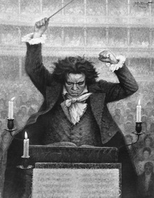 the political and musical career of ludwig van beethoven Roll over beethoven: ludwig van and 'the king's speech'  the king's political drive harnessed to the music's rhythmic drive  ludwig van beethoven.