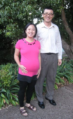 Eva Chen and Ken Shi from the Chinese Parents Support Service Trust