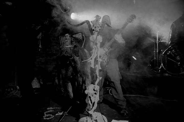 Christchurch extreme metal band Sinistrous Diablous courtesy Rebecca Tovey