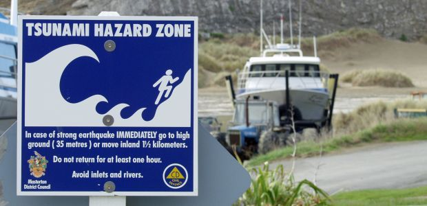 boatramp warning sign