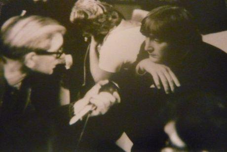 Professor and John Lennon cropped